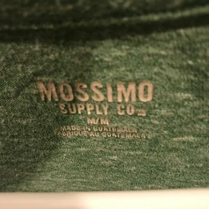 Mission Supply Co Size M Green Ash Tee